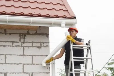 roof gutter cleaning in north shore