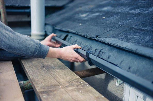 roof gutter repairs in hobart